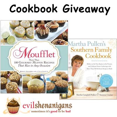 Cookbook Giveaway